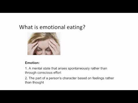 Emotional and Binge Eating 101