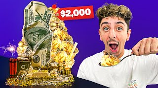 I Ate the Worlds Most Expensive Ice Cream! (24K GOLD)