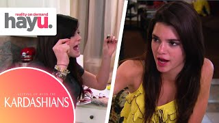 Kylie Jealous Of Kendall | Season 4 | Keeping Up With The Kardashians