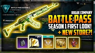 Rogue Company Battle Pass Season 1 FULL REVEAL and NEW STORE