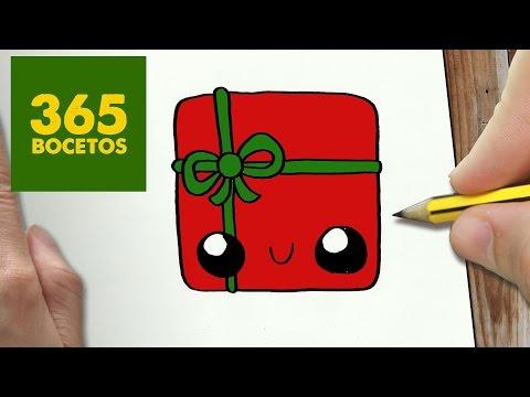Como Dibujar Un Cupcake Para Navidad Paso A Paso Dibujos Kawaii