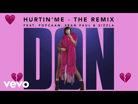 Stefflon Don - Hurtin' Me (Remix / Visualiser) ft. Sean Paul, Popcaan, Sizzla