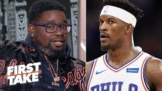 Philly is going to lose Game 1 and it'll be Jimmy Butler's fault - Lil Rel | First Take