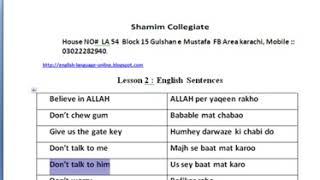 (157) Lesson Two Learn English Through Sentences In Urdu - YouTube_2.MKV