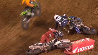 250SX Main Event Highlights - Nashville