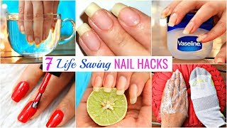 7 Life HACKS To GROW NAILS Fast & Strong   #Beauty #DIY #Remedy #Anaysa