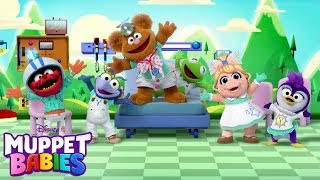 Laughter is the Best-est Medicine Music Video | Muppet Babies | Disney Junior