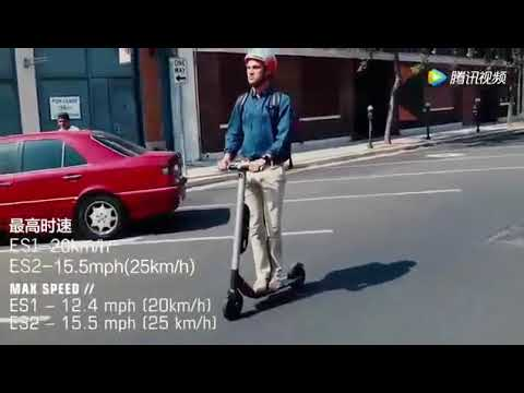video Ninebot Segway ES1 con Cruise Control