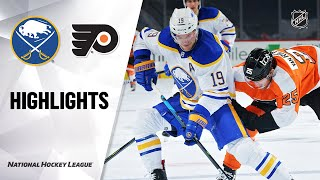 Sabres @ Flyers 1/19/21 | NHL Highlights