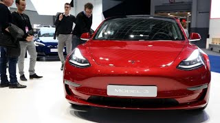 Tesla Model 3 receives top electric vehicle safety rating