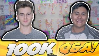 100k Subscriber Special Q & A ft. Reaction Time