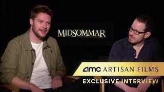 MIDSOMMAR -Interview (Jack Reynor, William Jackson Harper,  Ari Aster) | AMC Theatres (2019)