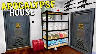 NEW APOCALYPSE BUNKER HOUSE GETS FLIPPED AT AUCTION! - House Flipper Gameplay