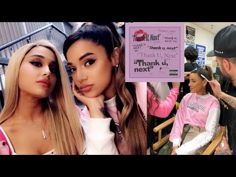 i was in the thank you, next music video ! wtffff