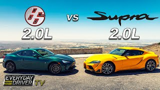 Toyota 86 vs Supra 2.0 - Step Brothers | Everyday Driver TV Season 7