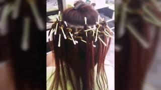 Làm Phồng chân tóc bằng bông tâm_Salon Luân Phạm