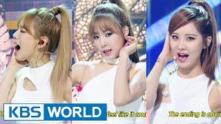 Girls' Generation-TTS (소녀시대-태티서) - Adrenaline / Holler [Music Bank COMEBACK / 2014.09.26]