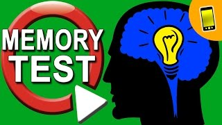 Memory Test  | Are You A Genius?