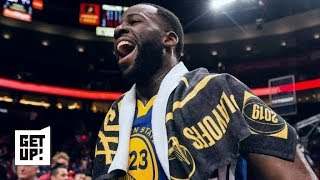 Draymond Green is a different player without Kevin Durant on the floor | Get Up!