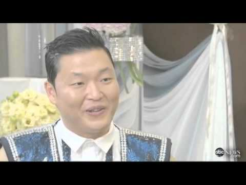 Psy's interview about gangnam style on abc