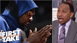 Warriors are 'worried' Durant will leave in free agency - Stephen A. | First Take