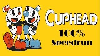 Cuphead 100% speedrun