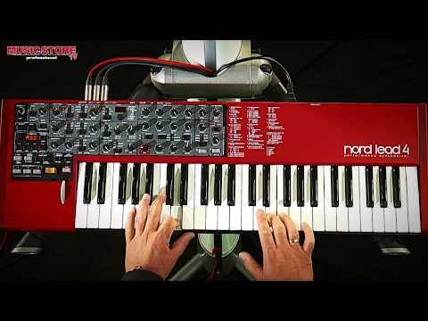 Clavia Nord Lead 4 Synthesizer Test / Demo / Sound