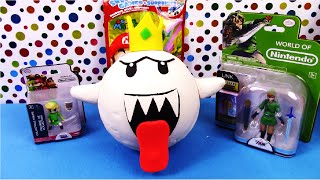 KING BOO BUDDY Giant Play Doh Surprise Super Egg Mario Zelda - Surprise Egg and Toy Collector SETC