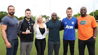 WWE RAW Opens With Tributes, Tyler Breeze On Main Event, WWE Superstars Train With Manchester United