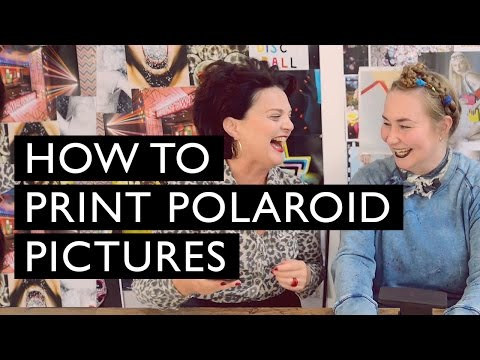 How to print Polaroid pictures | LULU GUINNESS
