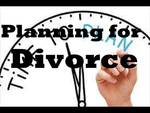 Planning for divorce in Michigan