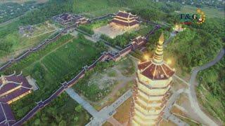 Bai Dinh Pagoda on Flycam - Toàn cảnh ngôi chùa lớn nhất Đông Nam Á