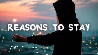 Kate Vogel - Reasons to Stay (Lyrics)