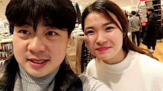 Lần đầu đi mua đồ tại Hàn Quốc(Phụ Đề)... Lóng nga lóng ngóng không  biết làm sao😟😟😟