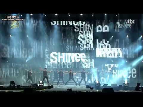 [中字] 130120 SHINee - Lucifer + Sherlock@2013 JTBC GDA