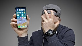 Switching to the iPhone X...