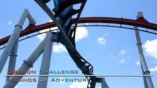 Dragon Challenge On-Ride (Both Dragons) - Islands of Adventure (HD)