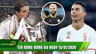 TIN NÓNG BÓNG ĐÁ 13/1: Real vô địch Siêu cúp Tây Ban Nha, Ronaldo đưa Juve lên đỉnh BXH