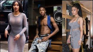 NBA Youngboy Hops Into Nicki Minaj Cardi B Beef Because His Label Atlantic Wont Release His Album