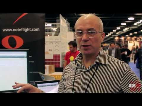 SCOREcast: NAMM 2013 - NoteFlight