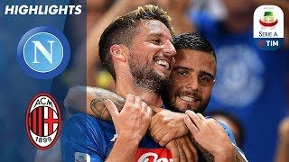 Napoli 3-2 Milan   Incredible Comeback Win from 2-0 Down!   Serie A