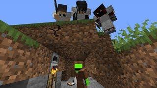 Minecraft Speedrunner VS 3 Hunters