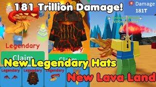 Update! New Best Legendary Hats! 181 Trillion Damage! Got Best Swords! - Unboxing Simulator