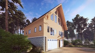 OUR BIGGEST REVEAL YET (Timber Frame House Tour)