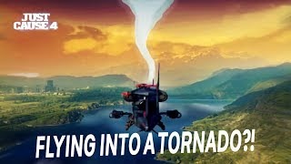 What Happens If You Fly Into The Tornado In