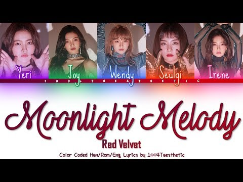 Red Velvet (레드벨벳) - Moonlight Melody (달빛 소리) Color Coded Han/Rom/Eng Lyrics