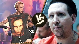 Marilyn Manson REFUSES to Leave Justin Bieber Alone!