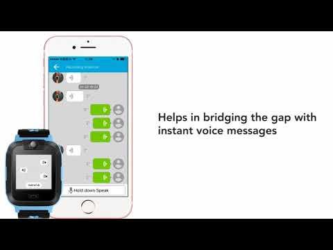 GPS smart watch PT306 –advanced technology meets safety