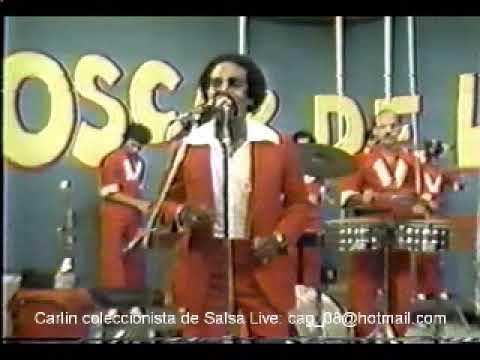 El Baile Suavecito - Oscar D' Leon y Leo Pacheco, La Salsa Mayor en Panama