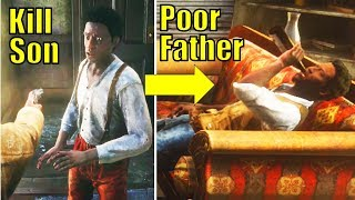 Revisiting the Father After Killing His SON (SECRET OUTCOME) - Red Dead Redemption 2